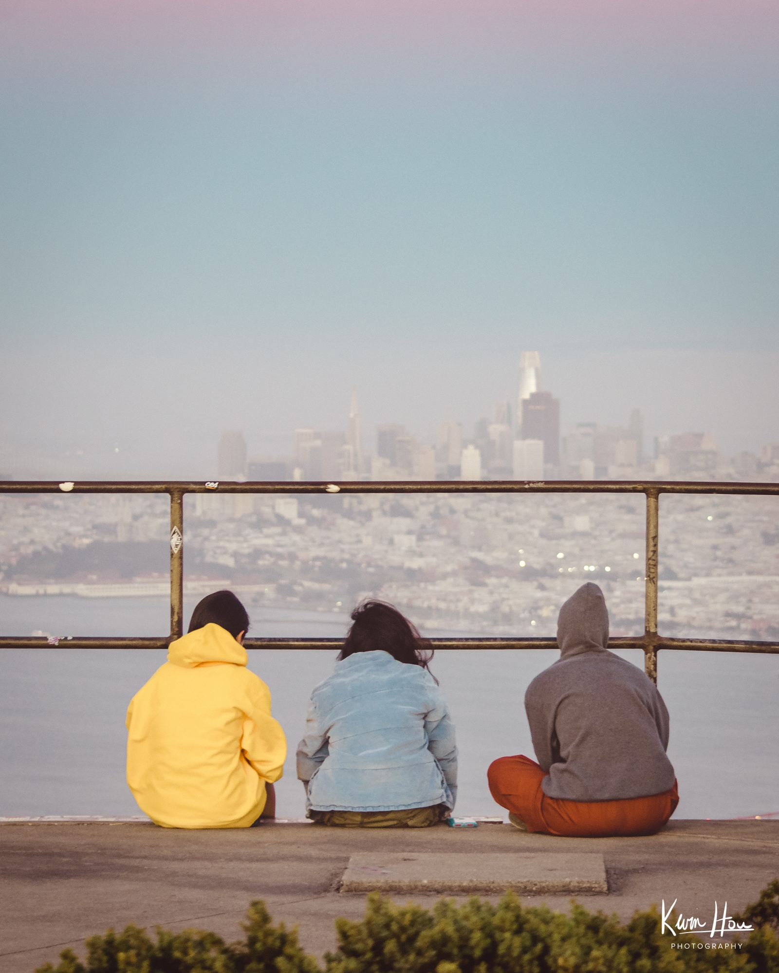 Friends in Front of San Francisco